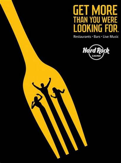 Graphic Hard Rock Ads Creative Casino Advertising