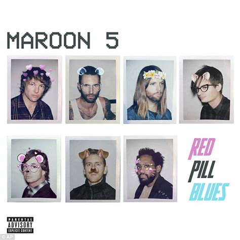 maroon 5 original name maroon 5 regret naming their album red pill blues daily