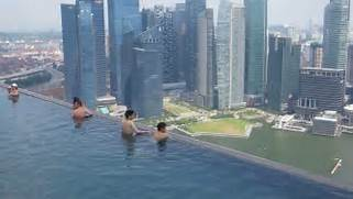 Singapore Hotel With Infinity Pool On Rooftop Image Marina Bay Sands Rooftop Infinity Pool Singapore YouTube