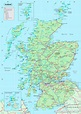 Map Of Scotland - Pinotglobal.com
