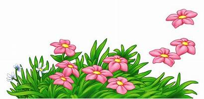 Flowers Grass Clipart Flower Ground Transparent Yopriceville