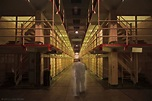 Alcatraz prison at night: Ghost dance in a haunted cell ...