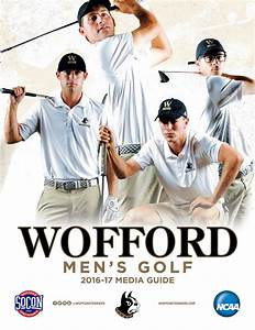 2016-17 Wofford Men's Golf Media Guide by Wofford ...