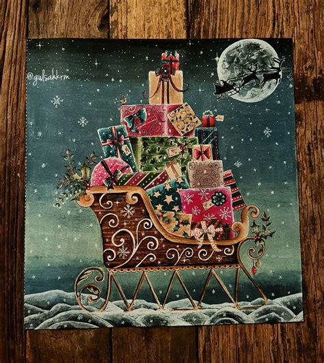 spent  summer listening  christmas tunes  create  christmas themed adult coloring