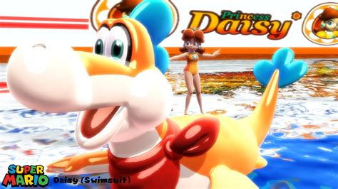 (mmd Model) Daisy (swimsuit) Download By Sab64 On Deviantart