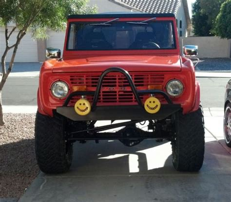 old bronco jeep 1976 ford bronco 4x4 jeep classic car rod classic