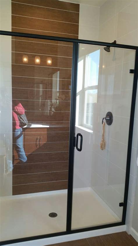 black trim shower door shower doors dream house shower