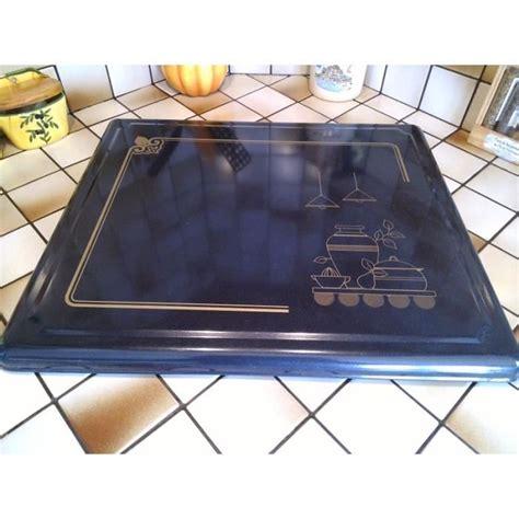 plaque protection cuisine plaque de protection pour feux à gaz noir sérigaphie pots
