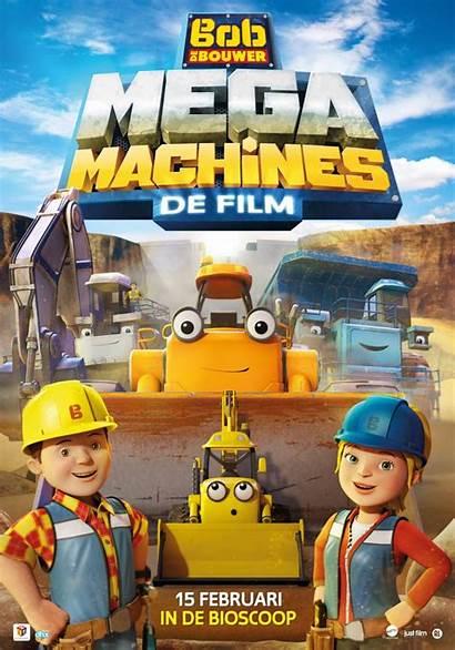 Bouwer Bob Machines Mega Film Bol Dvd