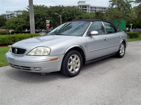 Find Used 2003 Mercury Sable Ls Premium Sedan 4-door 3.0l