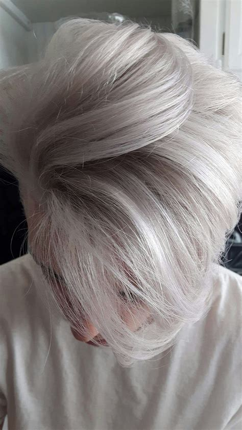 40 Hairstyles For Thick Hair Mens Silver Blonde Marlow