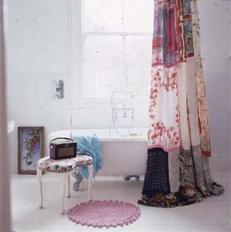 vintage shower curtains 10 vintage shower curtains for look in the bathroom