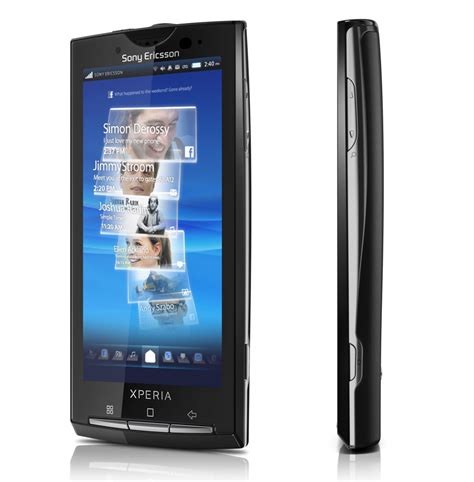a mobile phone mobile sony ericsson x10 android phone