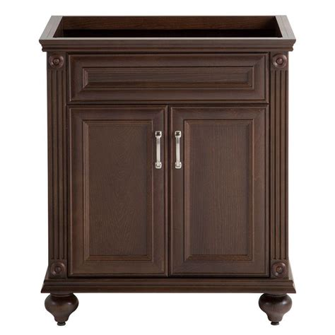 home depot cognac cabinets home decorators collection annakin 30 in w bath vanity
