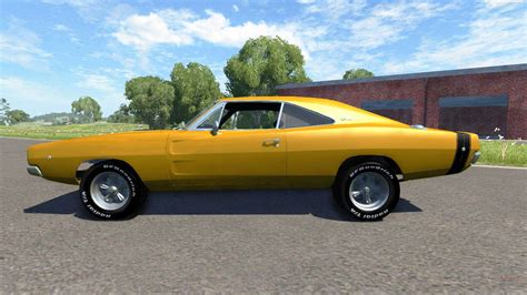 1970s Dodge Charger by Dodge Charger Rt 1970 Pour Beamng Drive