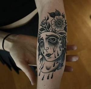 Tatouage Avant Bras Femme : mod le tatouage pour l 39 avant bras en 40 photos tr s originales ~ Melissatoandfro.com Idées de Décoration