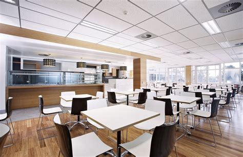 Interesting and Impressive Modern Office Cafeteria Design