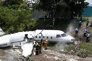 Private jet from Texas crashes in Honduras, all survive ...