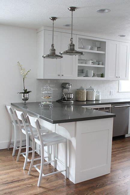 white kitchen island with breakfast bar ideas the 25 best breakfast bar kitchen ideas on