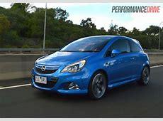 2013 Opel Corsa OPC review video PerformanceDrive
