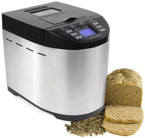 bread machine andrew james premium bread maker with automatic ingredients dispenser a slice of bread