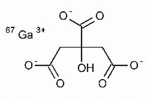 Gallium Citrate Ga 67Injection, chemical structure ...