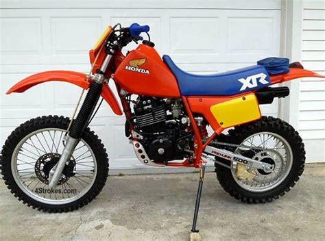 Honda Xr500r-1983. So Many Memories!