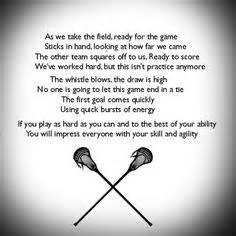 Cool Lacrosse Q... Good Lax Goalie Quotes