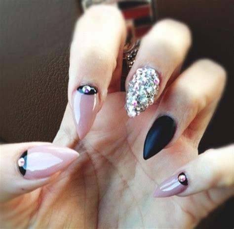 os melhores nail art em unhas stiletto sobre beleza