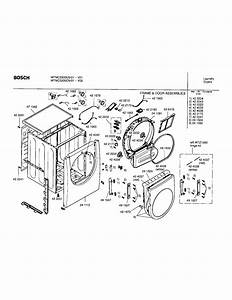 Bosch Model Wtmc3300us  01 Residential Dryer Genuine Parts