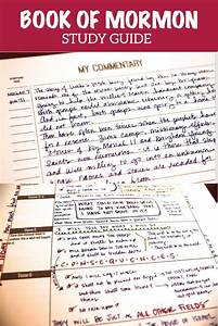 Awesome Book Of Mormon Study Guide  Diagrams  Doodles  And Insights  Scripture Journal Filled