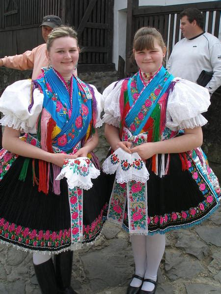 traditional hungarian clothes photo