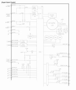 Kia Sportage  Instrument Cluster  Schematic Diagrams - Indicators And Gauges