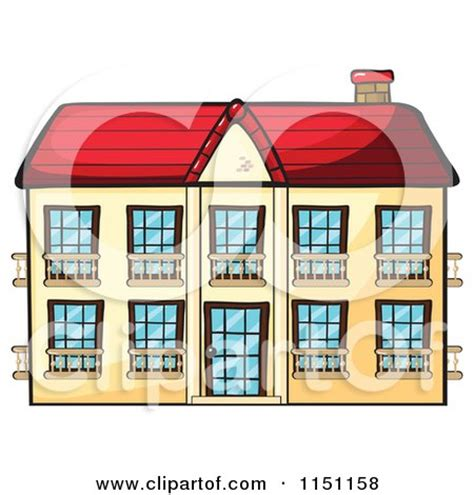 hotel clipart royalty free rf apartment building clipart
