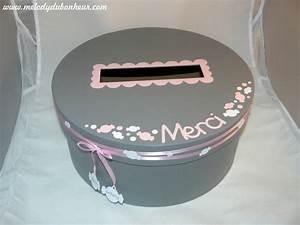 Boite Cadeau Ronde : urne anniversaire gifi le mariage ~ Teatrodelosmanantiales.com Idées de Décoration