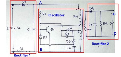 Mobile Charger Circuit Diagram Circuits Diy
