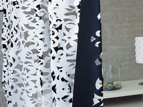 rideau a la decoupe pas cher tissu ignifuge en polyester pour rideaux bon genie by elitis