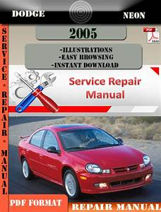 Dodge Neon 2005 Factory Service Repair Manual Pdf Zip