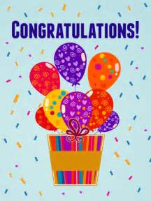 Balloon Congratulations Card