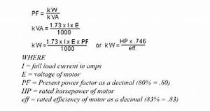 How To Calculate Power Factor Correction Electricity