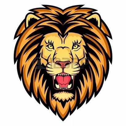 Lion Head Clipart Clip Silhouette Lions Roaring
