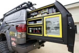 bed slide out cargo trays work truck pinterest trays