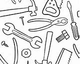 Wrench Coloring Getdrawings Construction Getcolorings sketch template