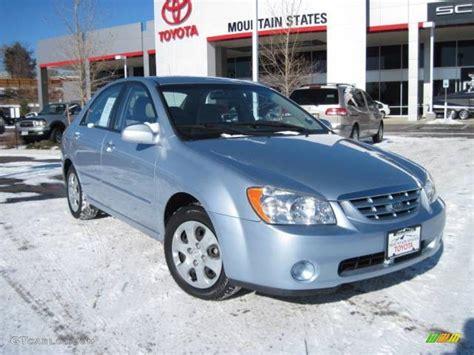 2006 Ice Blue Kia Spectra Ex Sedan #25580680