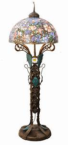 Meyda 49874 tiffany magnolia nouveau floral floor lamp for Tiffany magnolia floor lamp