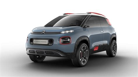 2018 Citroen Caircross Concept Compact Suv Revealed Youtube
