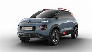 2018 Citroen C-aircross Concept Compact Suv Revealed