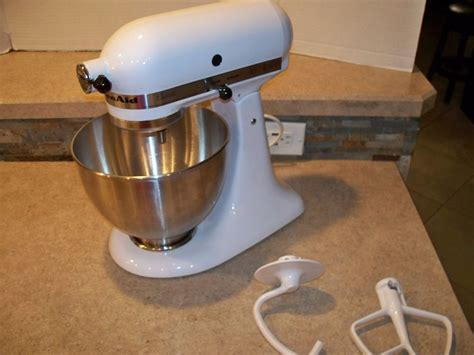 kitchen aide mixer accessories 701 kitchenaid k45ss classic tilt stand mixer bowl 2 4975