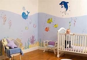 idees peinture chambre bebe bebe et decoration chambre With peinture pour chambre bebe