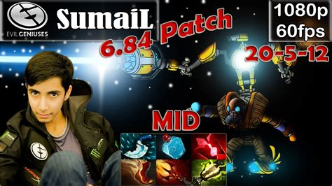 sumail eg tinker mid pro gameplay 6 84 patch mmr dota 2 pro 60fps 3 youtube
